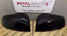 Toyota Tacoma 16-17 Black 202 Outer Mirror Covers Set W/ TS Genuine OEM