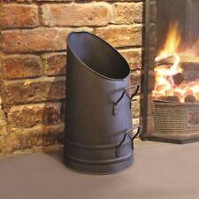 """Un """"La Maison Fireside Chimenea de Acero Carbón Hod Vintage Metal"""