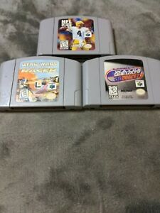 Nintendo 64 games lot-tested