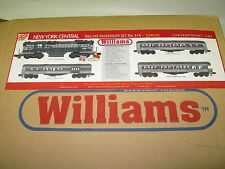 New Williams New York Central Deluxe Passenger set No. 314