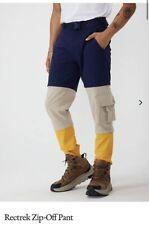 Outdoor Voices RecTrek Zip-Off Pants Navy Pampas Cider Sz M Brand New