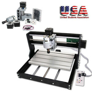 CNC ROUTER Mini Laser Engraver DIY Wood Milling Drill Carving Machine Kit New