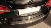 MATT gebürstet Edelstahl Ladekantenschutz Chrom für Opel Meriva B ab 2010