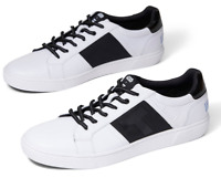 TOMS - Mens - Leandro - White Star Wars Stormtrooper Leather Sneakers