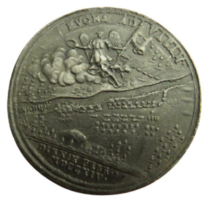 1714 Russia Peter I (The Great) Battle Of Vasa Medal