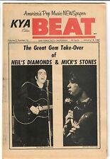 KYA Beat 1967 Teen Paper #2-13 Neil Diamond DC5 Stones Yardbirds John's Children