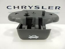 05-14 Challenger Charger 300 New Hood Release Handle Black Mopar Factory OEM