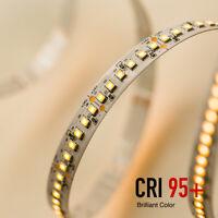 Strisce LED Strip 24V 18W/MT 120 LED/MT Alta Resa Cromatica CRI95 Bobina 5 Metri