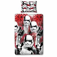 STAR WARS SINGLE DUVET COVER EPISODE VIII TROOPER LAST JEDI