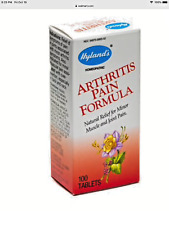 Hyland's Arthritis Pain Formula Tablets, Natural Relief of Minor