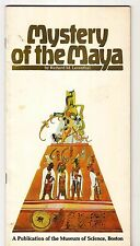 Mystery of the Maya Richard M Leventhal Museum of Science Boston Booklet