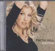 Faith Hill Breath  cd vgc