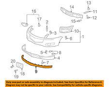 Chevrolet GM OEM 09-12 Traverse Front Bumper Grille-Air Deflector 25973905