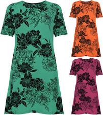 Magliette da donna a manica corta multicolore personalizzata