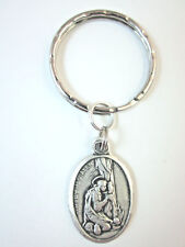 St Mary Magdalen Medal Italy Key Ring Gift Box & Prayer Card