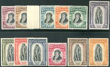 1935 San Marino Delfico serie completa 12 valori cert. Caffaz nuovi integri **