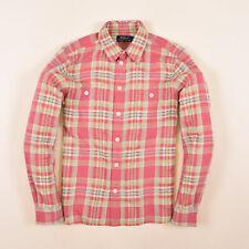Ralph Lauren Herren Hemd Shirt Freizeithemd Gr.M Kariert Mehrfarbig 86451