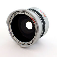 30.5mm HD Wide Angle 0.42X Fisheye Lens for Samsung SC-DX103,SC-DX205,USA,NEW