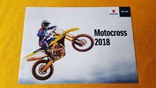 Suzuki RM-Z450 Z250 motocross trials bike motorcycle sales brochure 2018 MINT