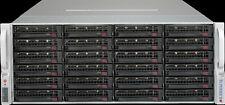 Supermicro 4U 36 Bay LFF Server X9DRH-IF Xeon E5-2670 v2 64GB 36x 4TGB SAS