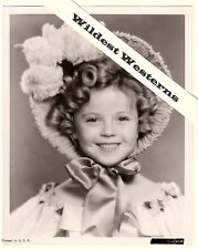 Rare SHIRLEY TEMPLE Vintage Original PHOTO Cute Smile Dimples The Little Colonel