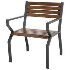 Sedia da esterno poltrona marrone da giardino per tavolo 2820077