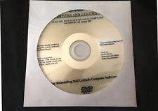 DELL Latitude 2100 E4200 E4300 E5400 E5500 E6400 E6500 XT2 Win 7 Drivers CD DVD