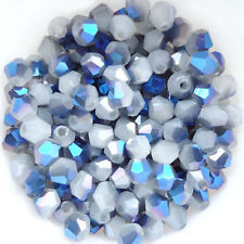 New Charm 100pcs swarovski Crystal 4mm #5301 Bicone Beads