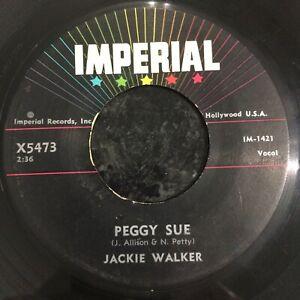 HEAR 1957 ROCKER - JACKIE WALKER - PEGGY SUE - IMPERIAL