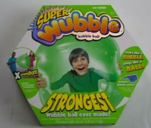 New Super Wubble Bubble Ball with Pump- Go Green Strongest Wubble Ball Ever Made