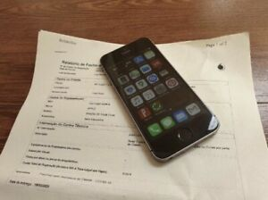 Iphone SE 32 GB Silver Gray