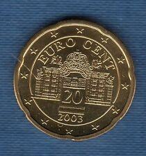 Autriche 2003 - 20 Centimes d'Euro