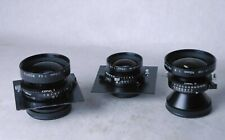 3 Nikkor Large Format Lens - 90 / 150 / 210 - beautiful condition