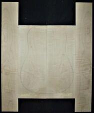 Guitar Luthier Tonewood FIGURED MAPLE Acoustic backs sides SET back side