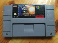 Firestriker Super Nintendo SNES Authentic Game Cartridge! Rare!