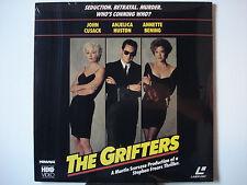 Grifters, The 1991 LaserDisc NEW John Cusack - Anjelica Houston - Annette Bening