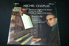 """MICHEL CHAPUIS / BACH   LP 33T 12""""   VALOIS MB 999"""