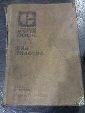 Caterpillar D9G Tractor Parts Book