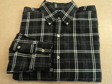 RALPH LAUREN GOLF Black Plaid Blake Button Down Shirt M Mens L/S Casual/Dress RL