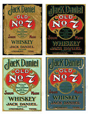 Vintage Style Labels  ~Jack Daniels  - #FH417   Reproduction