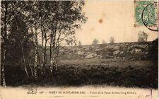 CPA  Forét de Fontainebleu -Vallon de la Petite Arabie (Long Rocher)   (249219)