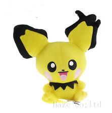 "7"" Pokemon Rare PICHU Plush Doll Toy New"