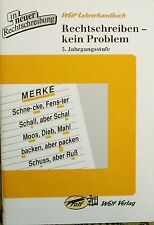 Wolf  Rechtschreiben kein Problem 5. Jahrgangsstufe - Lehrerhandbuch