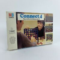 Vintage Connect 4 MB Boardgame Original 1976 Edition - Stategy 100% Complete