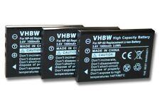 3x Funkgeräte Akku BATTERIE 1000mAh für BAOFENG UV-100, UV-200, UV-3R Mark II 2