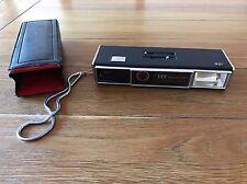 ITT Vintage Rétro Téléobjectif appareil photo avec étui 110 Magic Flash Accessoires Film Ancien