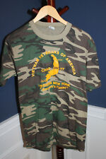 Original Vietnam War Veterans of America (WNY) 1980's Camo T-Shirt, Size XL