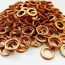Collapsible Copper Sump Plug Washers - PN106 - (x100) - Toyota