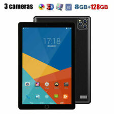 "10.1"" Ultra-thin 4G Tablet PC Android 9.0 8+128GB WIFI Dual SIM Triple Cam 2020"