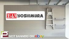 Yoshimura garage atelier moto bannière Kawasaki, z750, SUZUKI GSX-R
